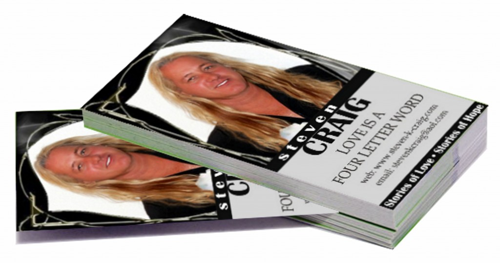 Business cards for authors
