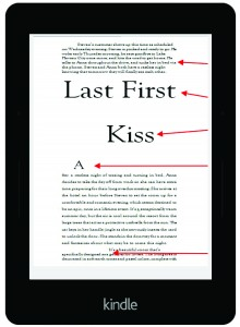 Improper Kindle Formatting