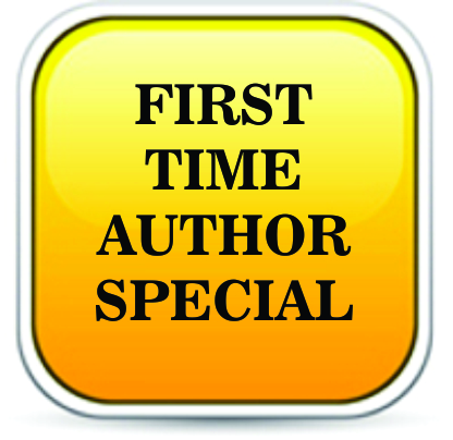 FIRST TIME AUTHOR SPECIAL